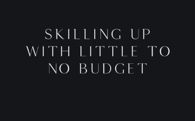 Skilling up with little to no budget
